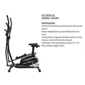 American Fitness Elliptical-BE5901